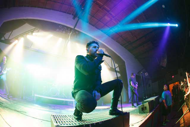 AFI at Cain's Ballroom, Best Concert venue (Tulsa) Photo by Kevin Pyle.
