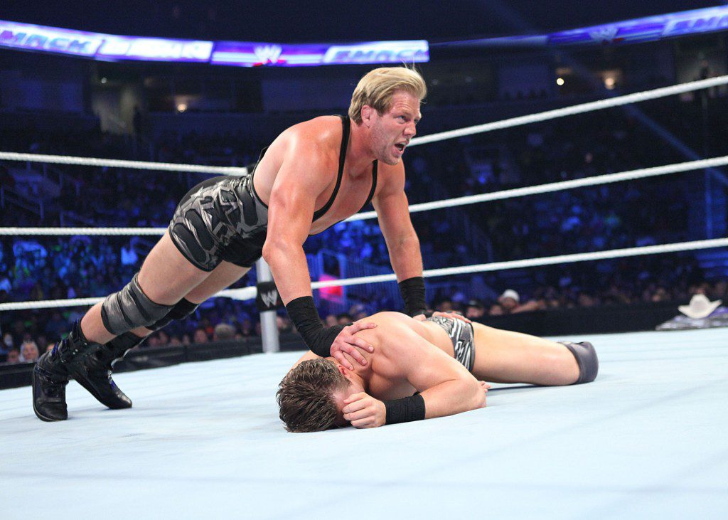 Perry, Okla., native and WWE champ Jack Swagger. Courtesy WWE Inc.