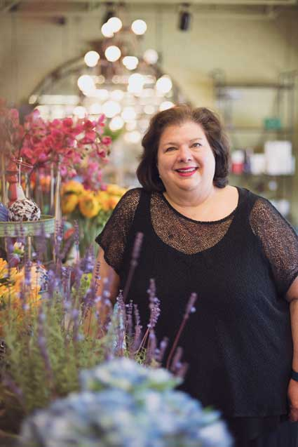 Toni Garner of Toni's Flowers & Gifts, Best Florist (Tulsa).
