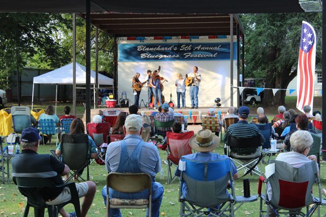 Photo courtesy Blanchard Bluegrass Festival