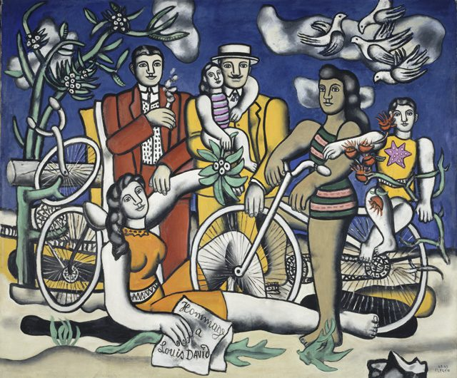 Leisure-Homage to Jacque Louis David by Fernand Leger, Centre Pompidou, Paris