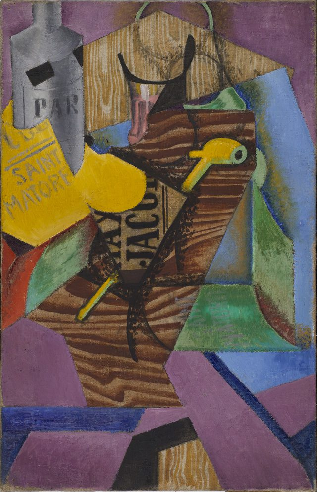 Still Life with Book by Juan Gris. Centre Pompidou, Paris