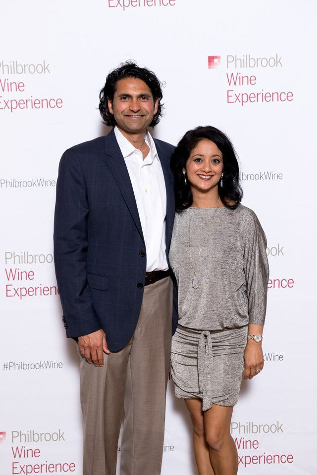 Atul and Ashwini Vaidya, Philbrook Wine Experience.