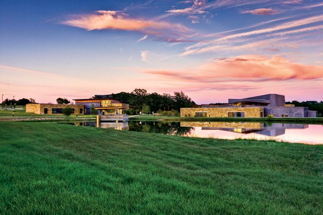 The Chickasaw Cultural Center in Sulphur hosts a variety of demonstrations and exhibits. Photo courtesy the Chickasaw Nation