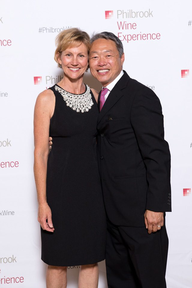 Diane and Byron Shen, Philbrook Wine Experience.