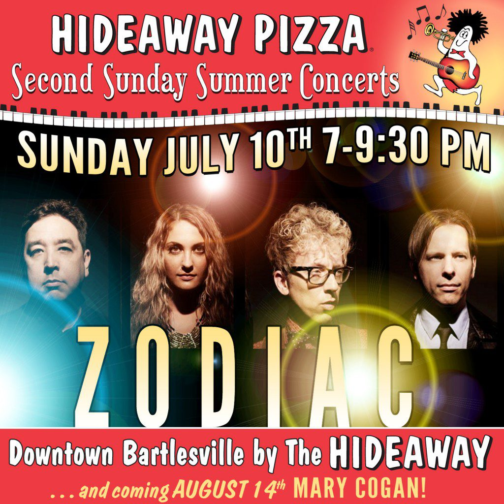 Summer Sunday Concerts 2016 Series Meme July ZODIAC