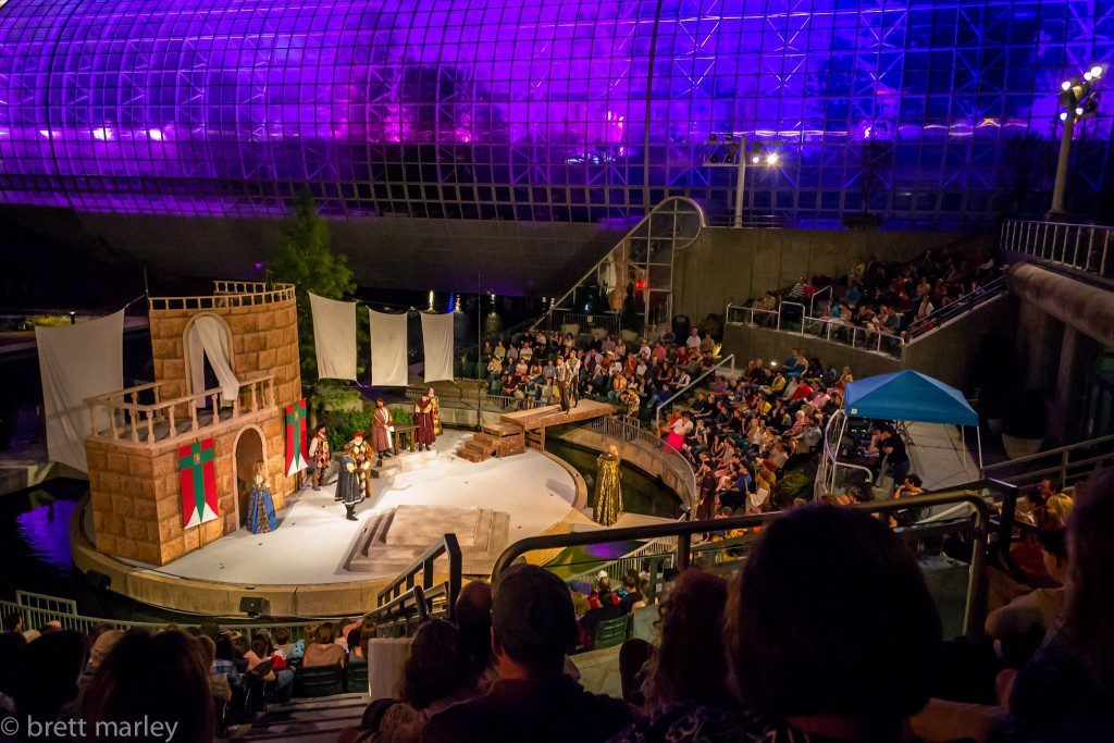 Photo courtesy of Oklahoma Shakespeare in the Park.