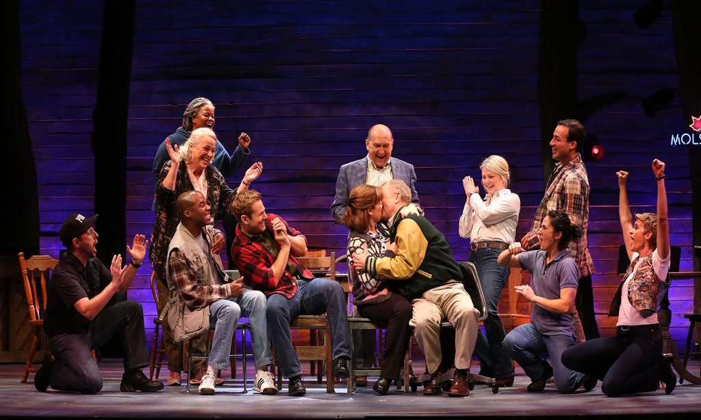 Come From Away has received critical acclaim before hitting broadway. Photo by Carol Pegg.