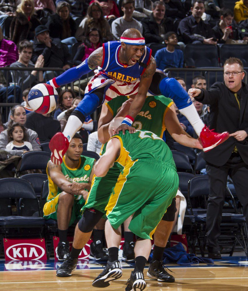 Photo courtesy Harlem Globetrotters International, Inc.