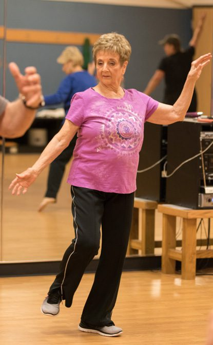 Carole Holloway has been involved in various forms of dance for most of her life.