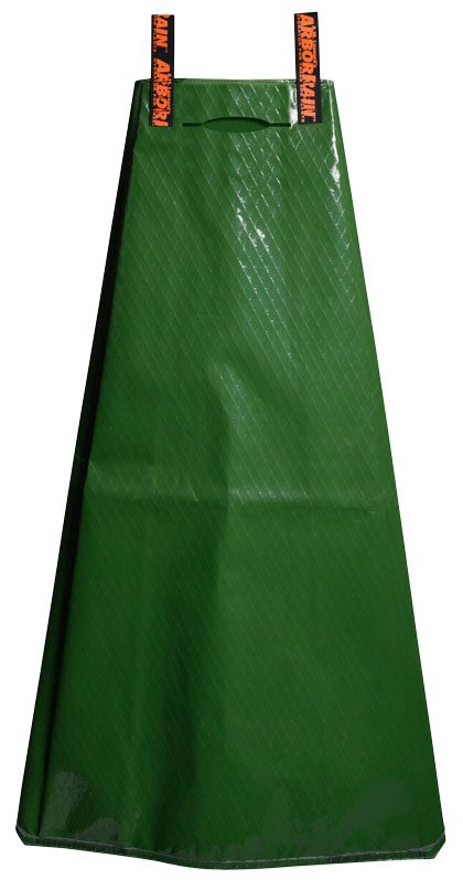 The unique arbor rain tower, essential new trees, holds gallons of water that will drip irrigate A tree over several hours. $24.99.