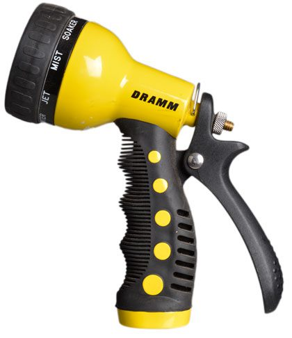 Whether you need a fine mist or a full jet, this adjustable nozzle has a variety of sprays for every plant. $26.99.