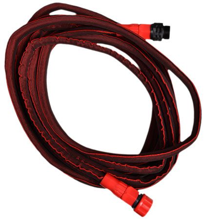 This flexible hose expands to 50 feet, avoids kinks and knots and is far lighter than many competitors. $26.99