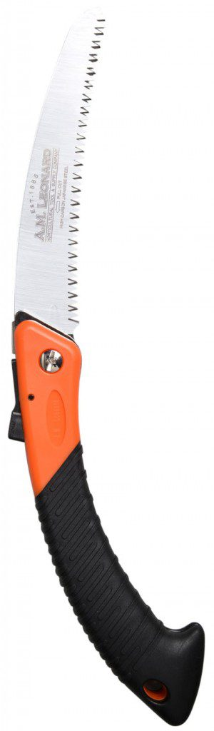 When pruning shears won't cut it on thicker limbs, A pruning saw can get the job done. $29.99