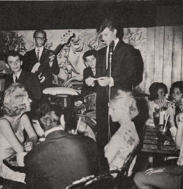 Though small, Pandora's Box was considered one of the hottest nightspots in LA in the Early '60s. Photos courtesy Jim Karstein and Steve Todoroff