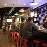 Empire Slice House offers up trendy, modern digs to enjoy while eating.